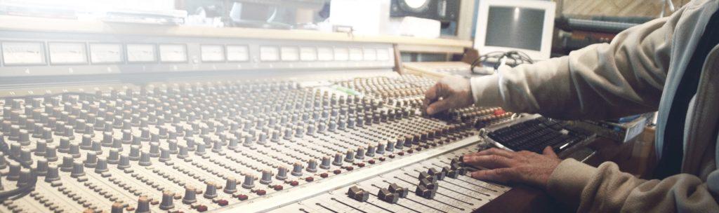 music studio banner